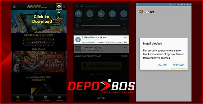 step download android joker1999 pertama